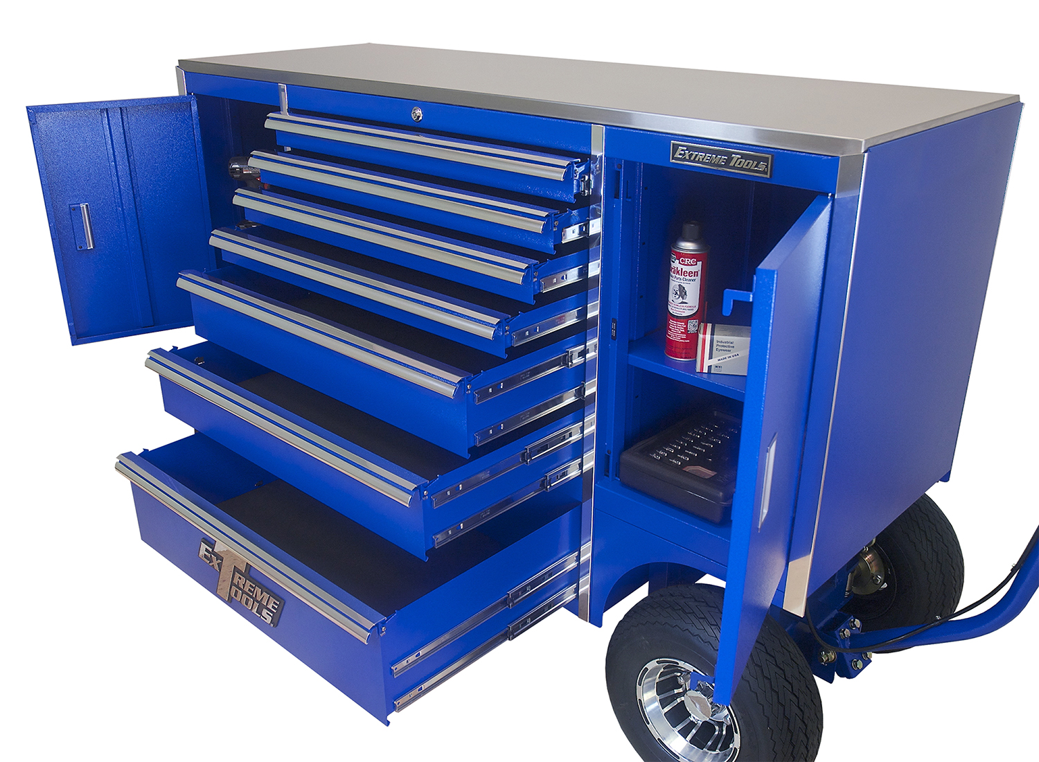 Extreme Tools 70 7 Drawer2 Compartment Pit Box toolxpress