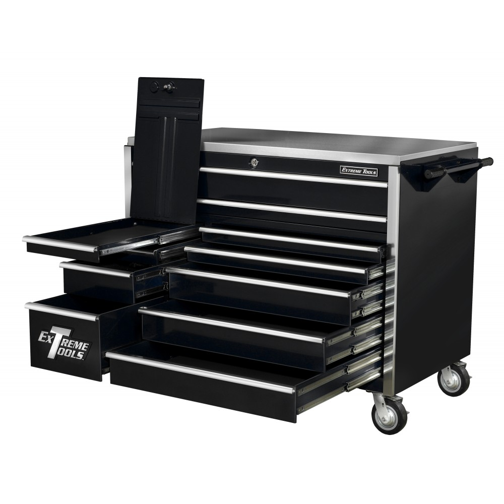 Ex5511rcbl_opn2_1_1. Extreme Tools 55u201d 11 Drawer Roller Tool Cabinet ...