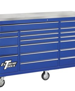 """Extreme Tools 72"""" 18 Drawer Roller Tool Cabinet – EX7218RC"""
