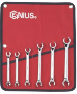 6 Piece Metric Flare Nut Wrench Set FN-006M