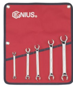 5 Piece SAE Flare Nut Wrench Set FN-005S