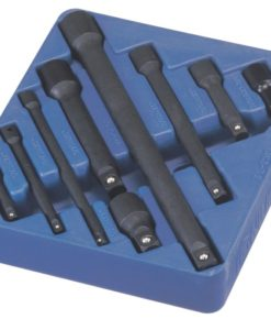 """9 Piece 1/4"""", 3/8"""" & 1/2"""" Dr. Impact Extension Bar Set IE-2349"""
