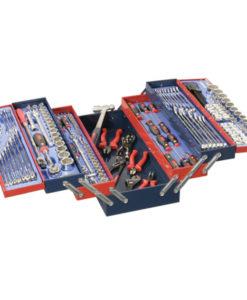 190 Piece Metric & SAE Mechanics Tool Set MS-190TS