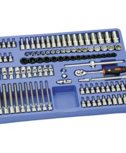"""106 Piece 3/8"""" Dr. Metric Master Socket Set MS-106M"""