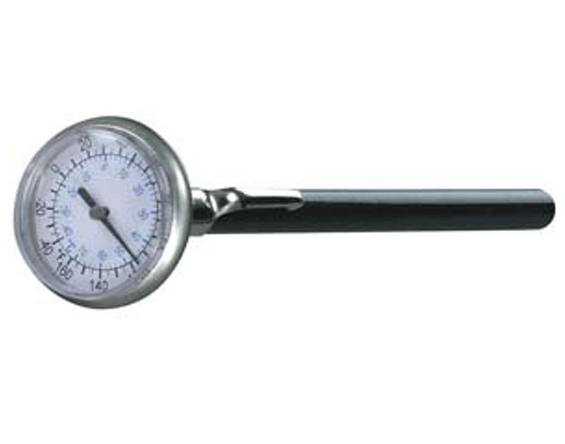 "Mastercool Analog Thermometer 1"" Face ML52220"