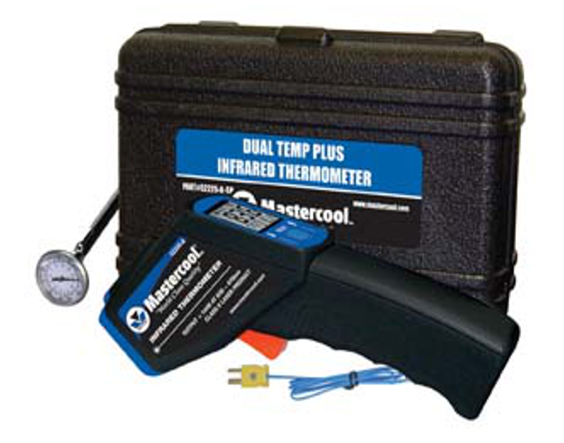 Mastercool Dual Temp Infra Red Thermo Gun Kit ML52225-A-SP