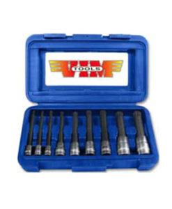 VIM 9 Piece Long Triple Square  12 Point Bit Set VMXZN400