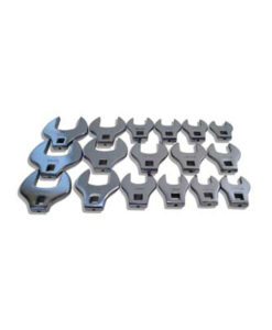 """V8 Tools 17 Piece Metric 1/2""""Drive Crowfoot Set VT7917"""