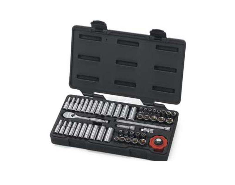 KD Tools 51 Piece 1/4 Drive 6 Point Socket Set KD80300