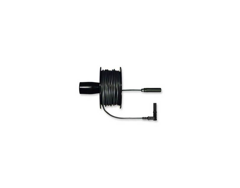Silvertronic Black Cable Reel Extension Lead - 40 Ft 134328