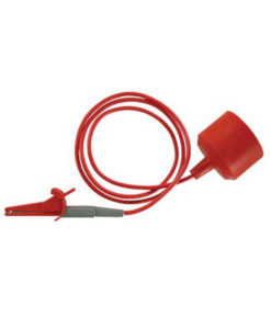 Silvertronic Motorcycle Jump Lead, Red 126104R