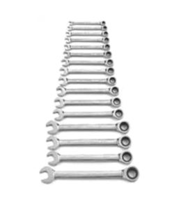 KD Tools 16 Piece Metric Gear Wrench Set KD9416