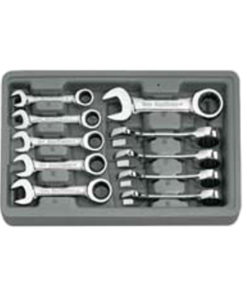 KD Tools 10 Pc. Metric Stubby GearWrench Set KD9520