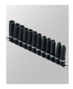 "Genius Tools 12 Pc. 3/8"" Metric Deep Swivel Impact Set TG-312MD"