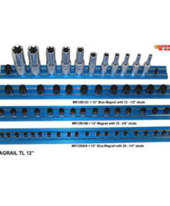 "VIM Magrail TL 8"" Long 8-1/2"" Blue Studs VMMR8B8C"