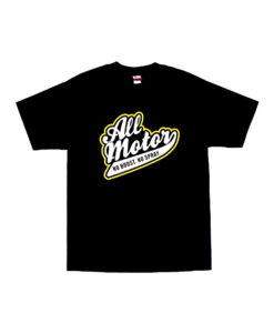 Eat Sleep Race All Motor T-Shirt (Blk/Yellow)