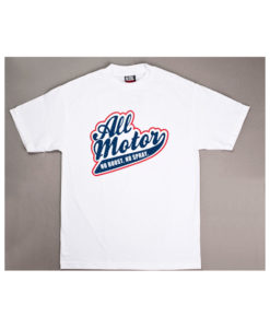 Eat Sleep Race All Motor T-Shirt (White)
