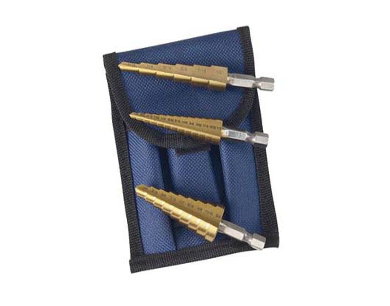 Astro Pneumatic Titanium Step Drill Bit Set AO9445